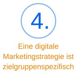 Punkt 4 eine Marketingstrategie ist zielgruppenspezifisch