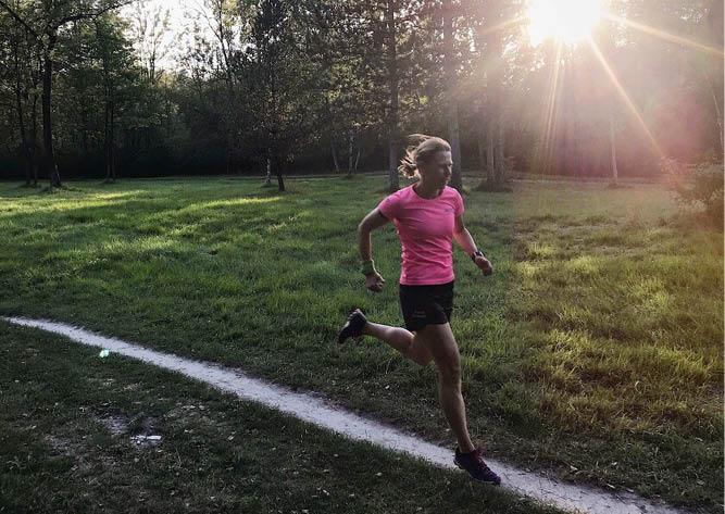 Cindy läuft