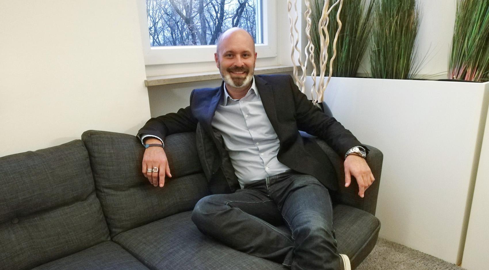 Jochen - neues Mitglied der eviom Geschäftsleitung