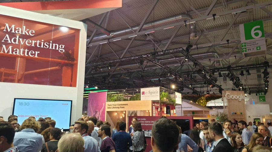 Messestand Dmexco 2019