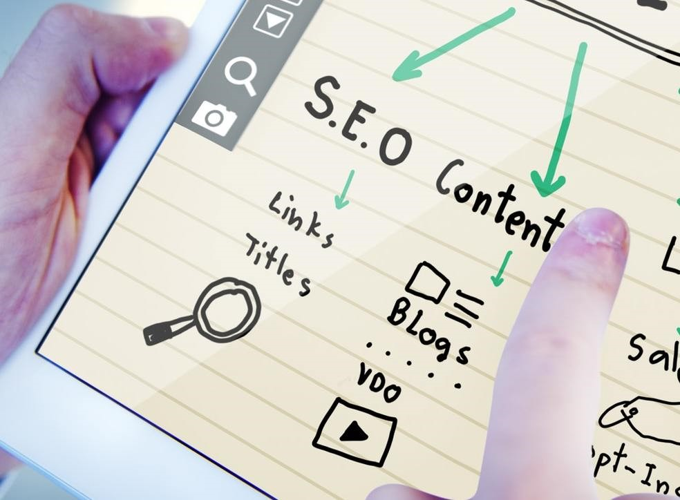 SEO und Content Grafik