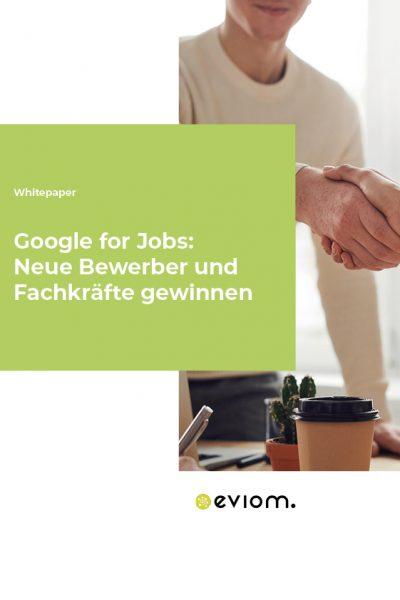 Titelbild Google for Jobs Whitepaper